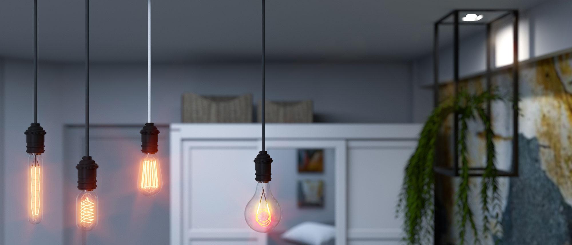 Light bulbs - Bitopia 3D rendering studio