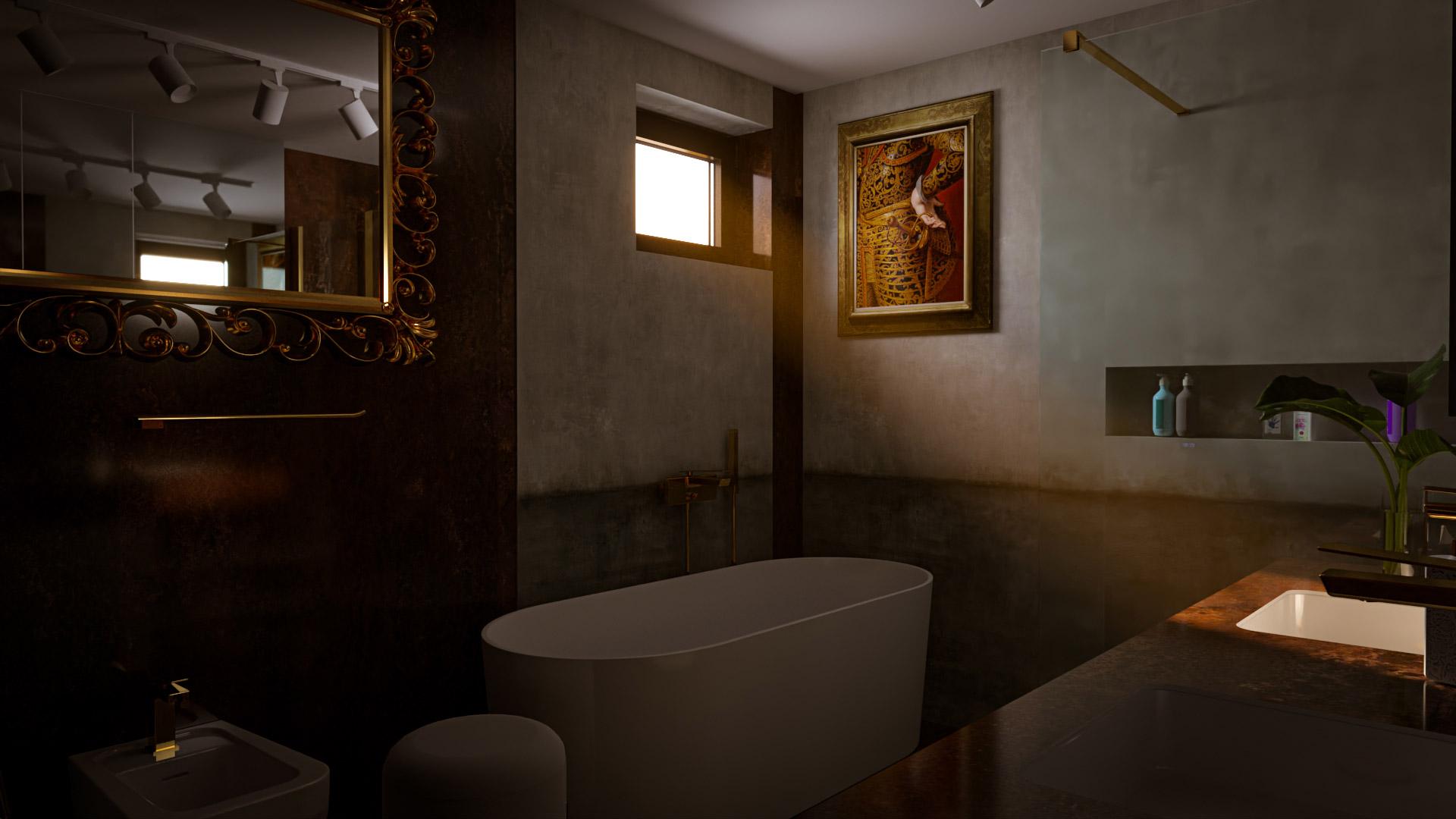 Bathroom visualization - Bitopia 3D rendering studio