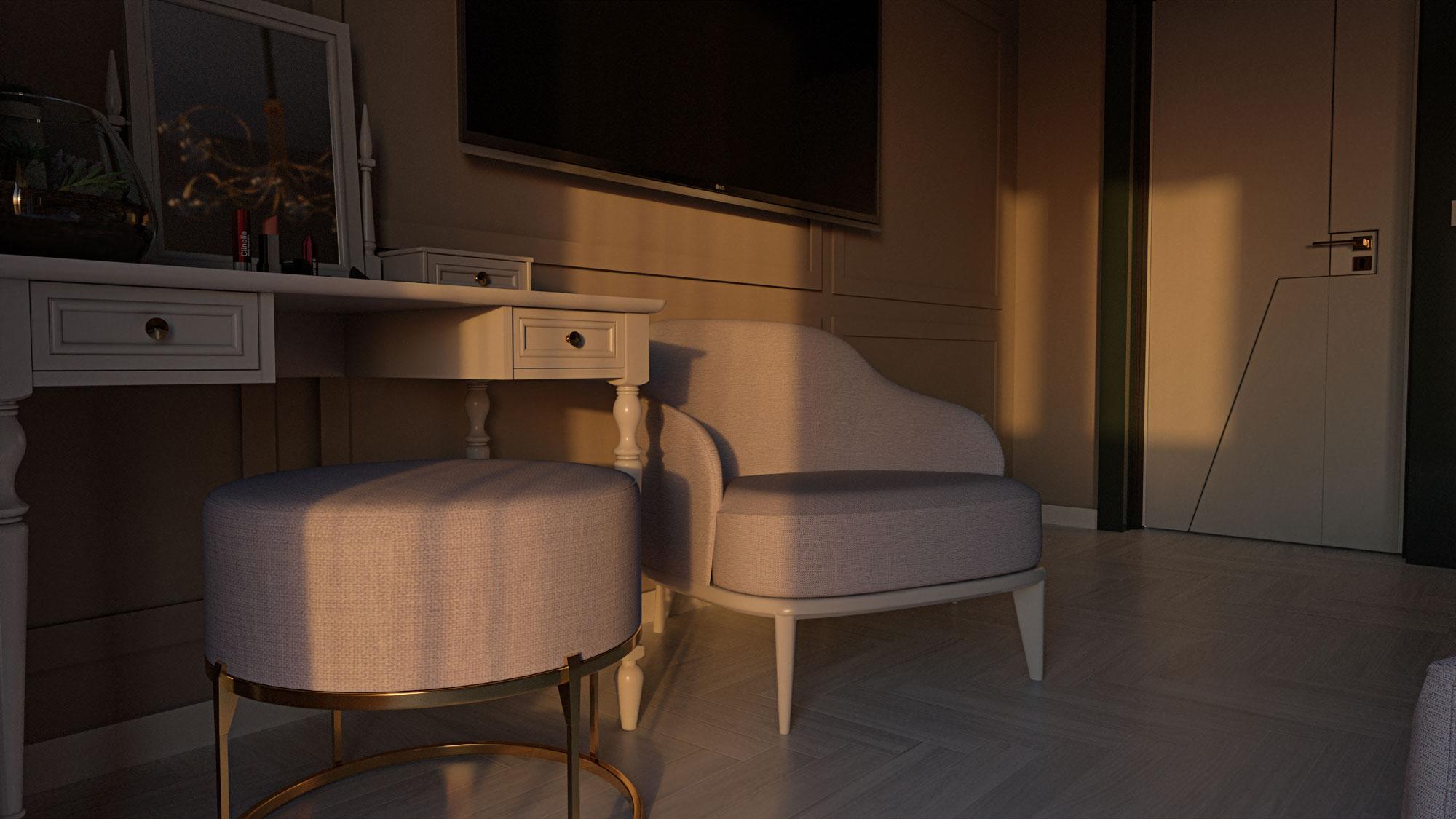 Golden Hour Bedroom