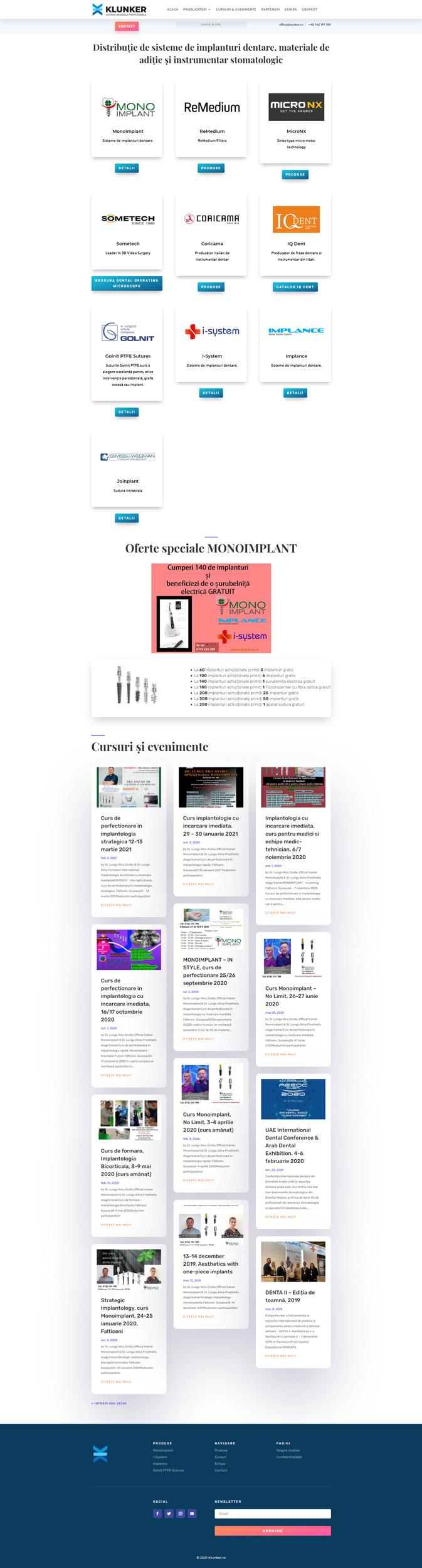 klunker.ro - Portofoliu design web Bitopia Falticeni