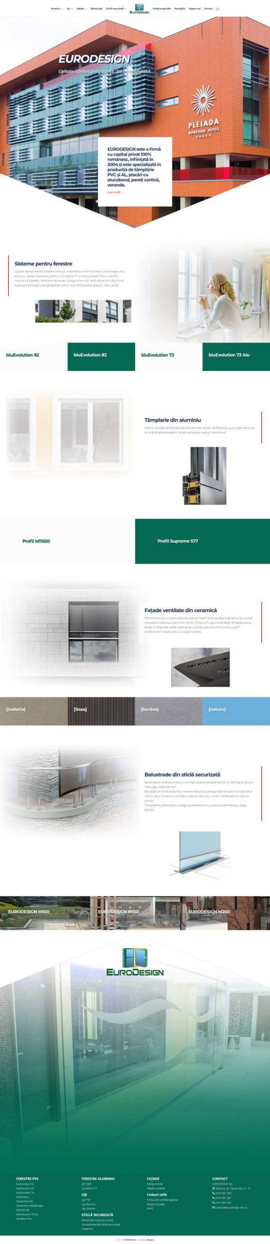 eurodesign.info.ro - Portofoliu design web Bitopia Falticeni
