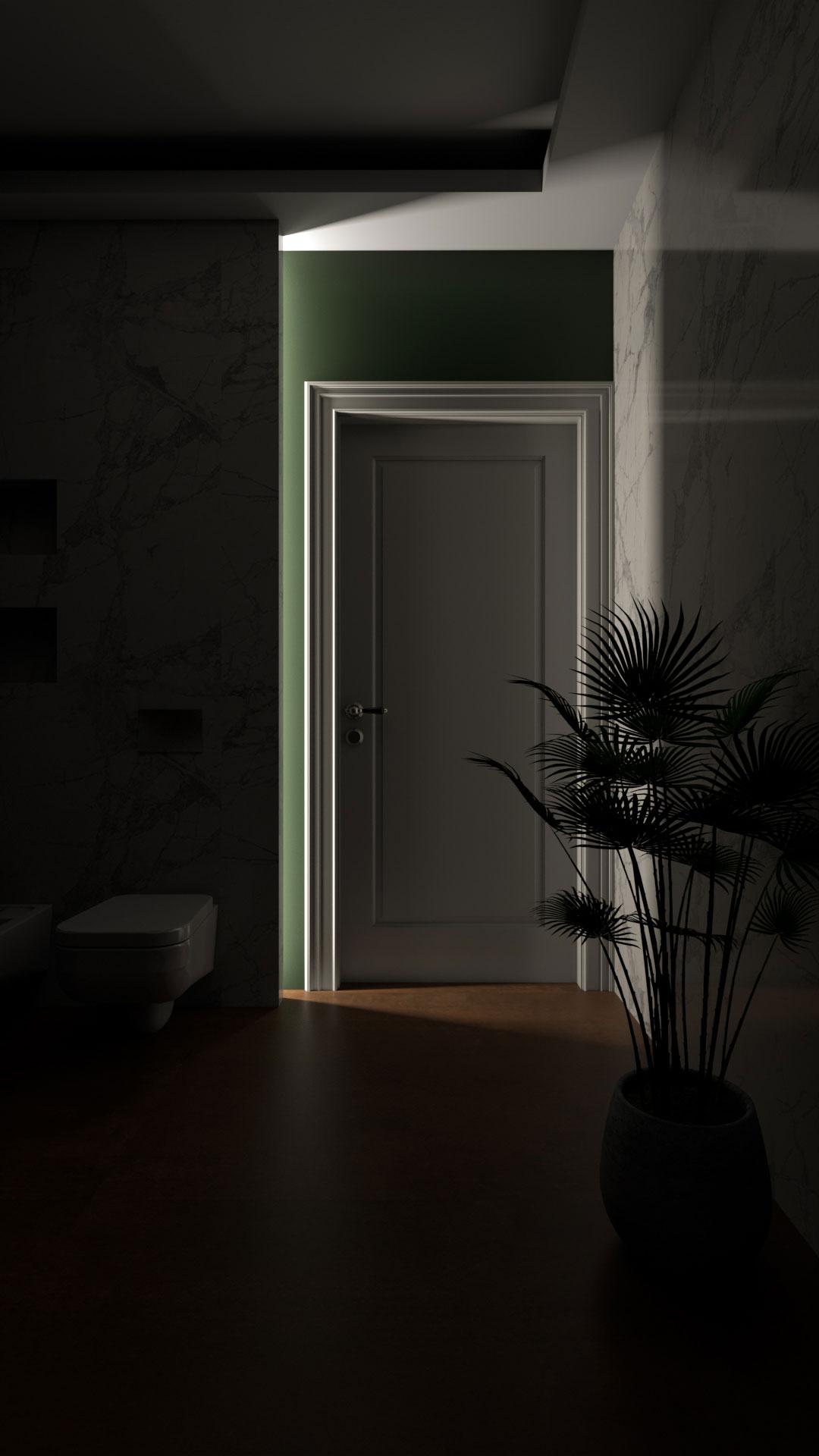 Bathroom visualization - Bitopia 3D render studio Romania