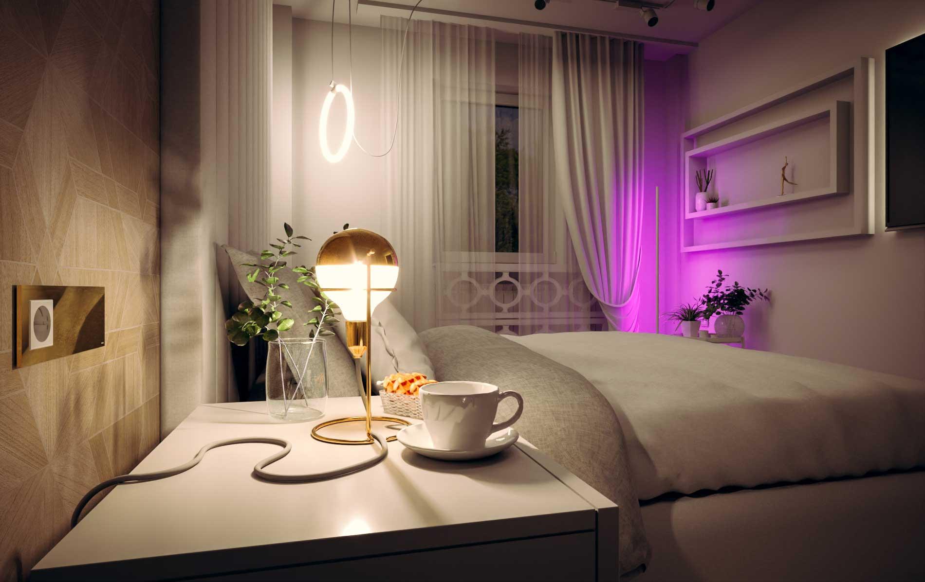 Bedroom - Bitopia studio de randare Falticeni Suceava - Interior design