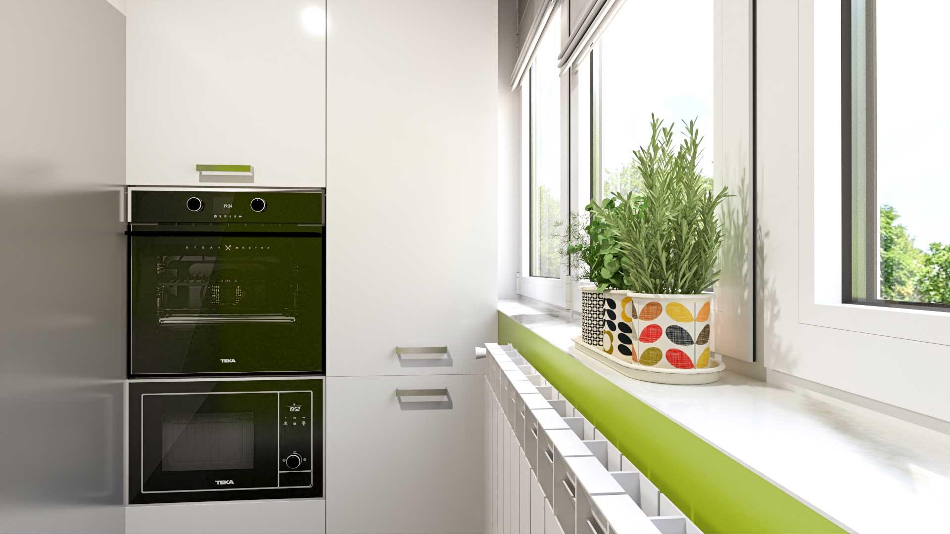 Kitchen visualization - Bitopia 3D rendering studio