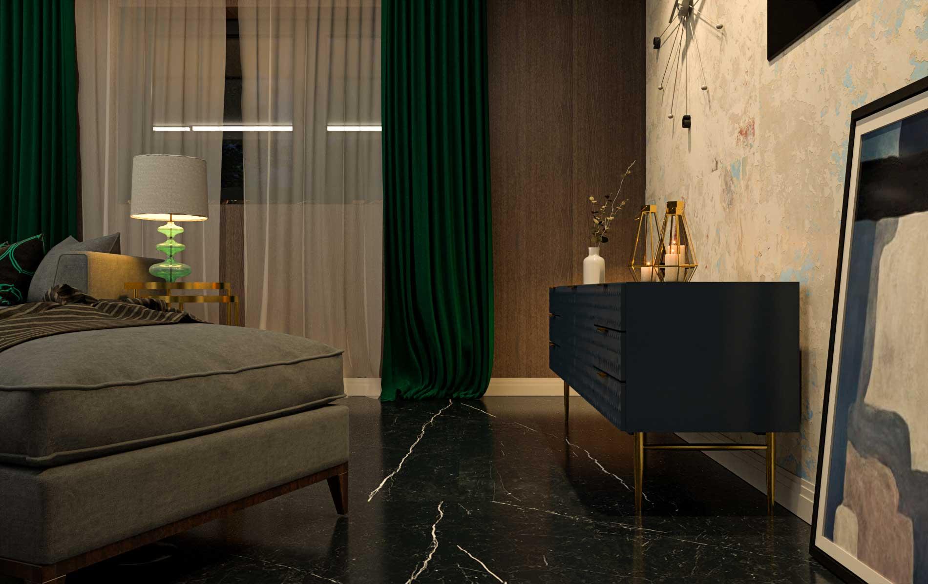 ArchViz Living Room - Bitopia 3D render studio - Interior design Falticeni
